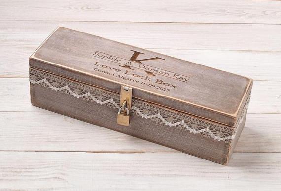 Ящик для винной церемонии на свадьбу. Цена 2 700 руб.