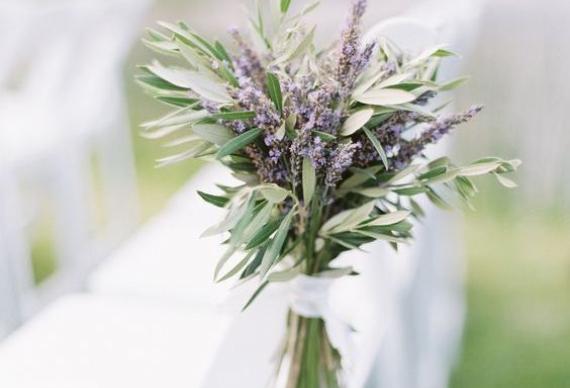 лаванда для свадебного декора