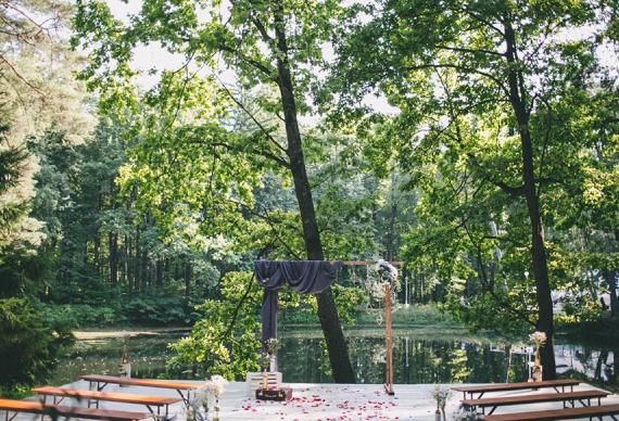 Место для свадьбы на природе
