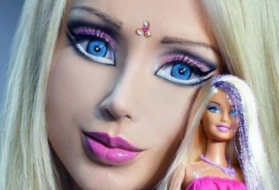 макияж в стиле барби 5