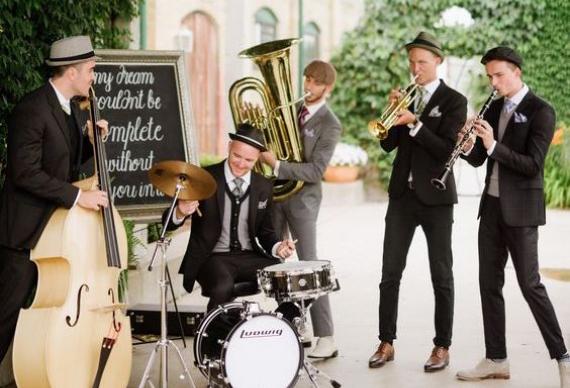 выступление музыкантов на свадьбе