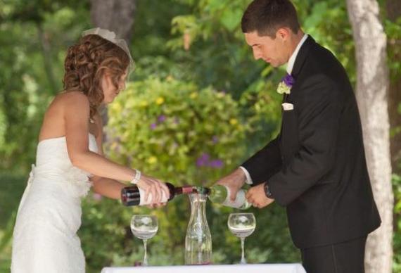 свадебная пара объединение вин