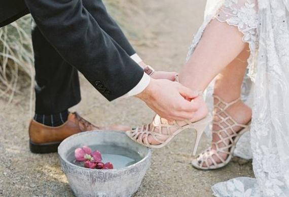 омовение ног свадебная церемония