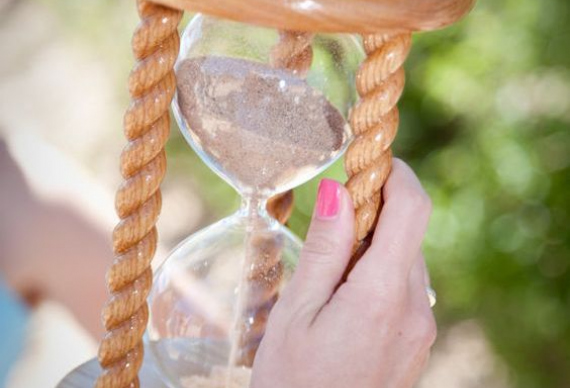 песочные часы на свадьбу