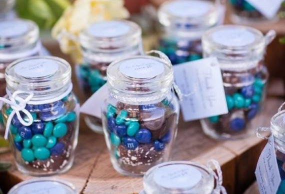 свадебные подарки для гостей