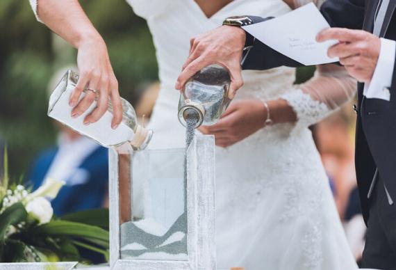 как проходит песочная церемония на свадьбе