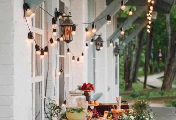 свадебные ретро гирлянды