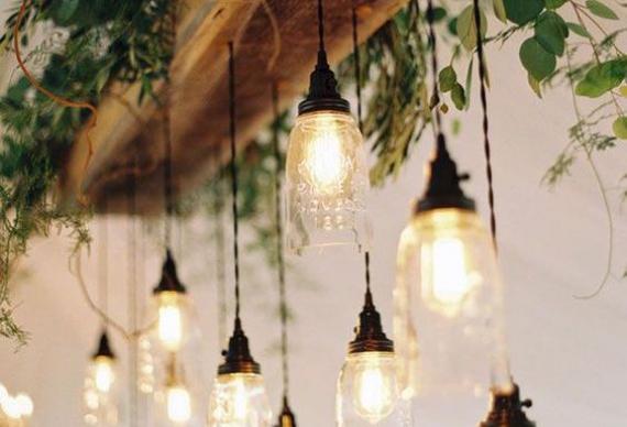 ретро люстры на свадьбу