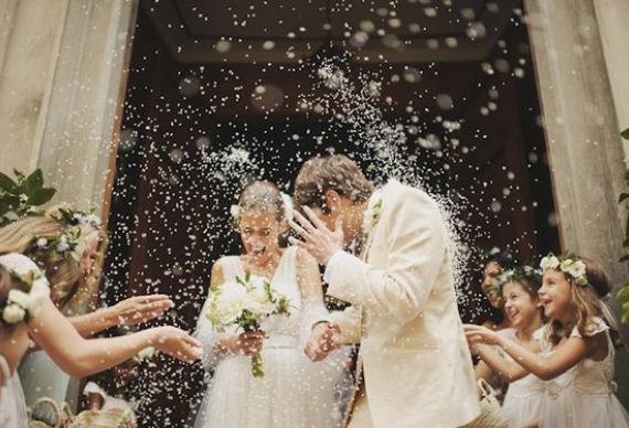 рис на свадебной церемонии