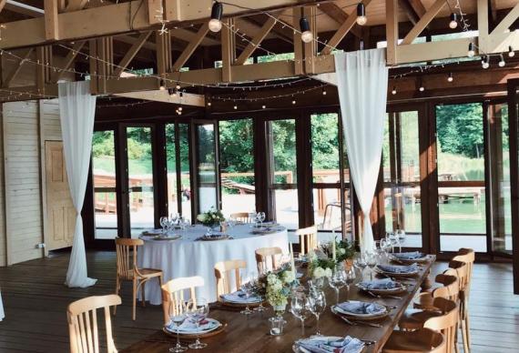 Панорамный ресторан на свадьбу