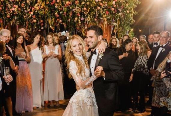 танец на свадебном торжестве