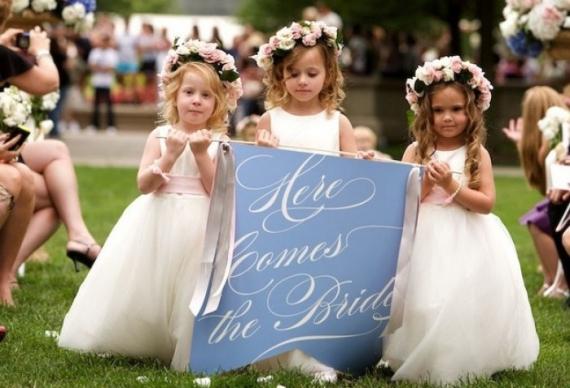 ангелочки на свадьбе