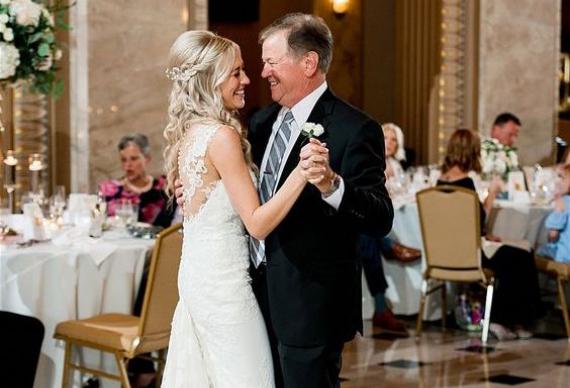 танец отца и дочки