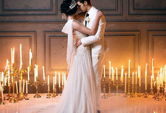 танец в огне жениха и невесты