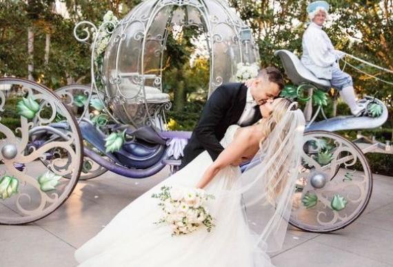 карета на свадьбе