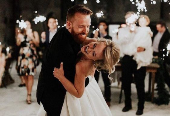 завершение свадьбы в ресторане танец