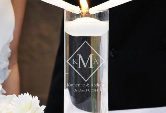 зажжение свечей на свадебной церемонии
