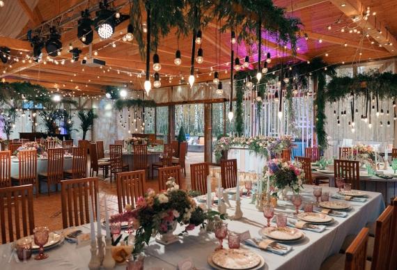 Свадьба с панорамным видом