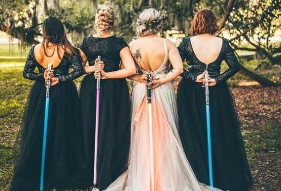 звездные войны свадебная церемония