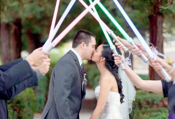звездные войны оформление свадьбы