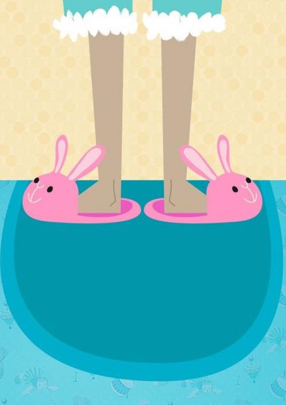 открытка для пижамной вечеринки