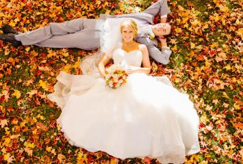 свадьба осенью
