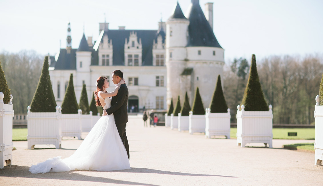 свадьба по французски