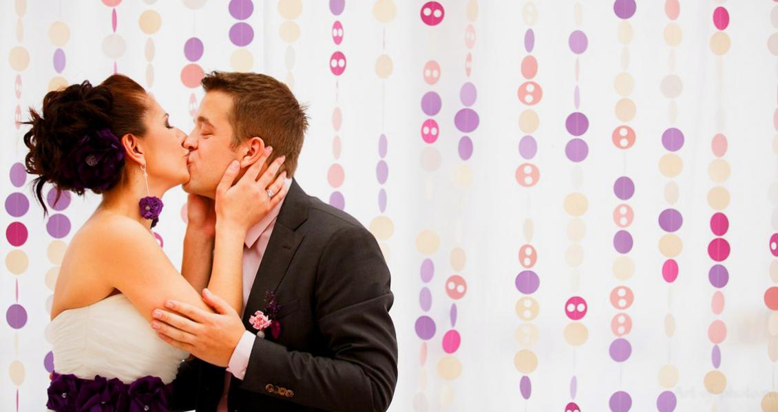 пуговичная свадьба