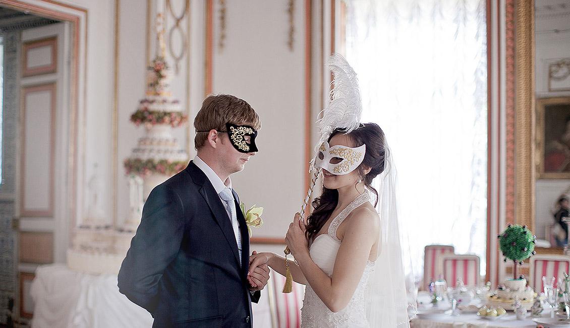 Свадьба маскарад